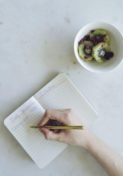 Food journal: Qué es y por qué deberíamos tener uno
