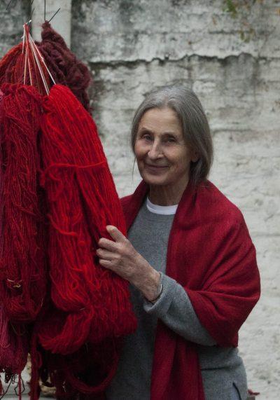 Pilar Valdés, pausar el tiempo para tejer