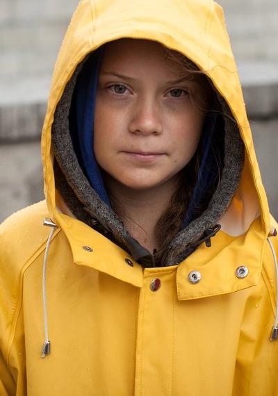 Greta Thunberg, la joven activista del cambio climático
