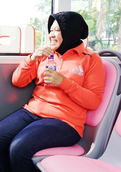 El transporte de Surabaya