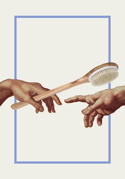 Cepillarme la piel en seco