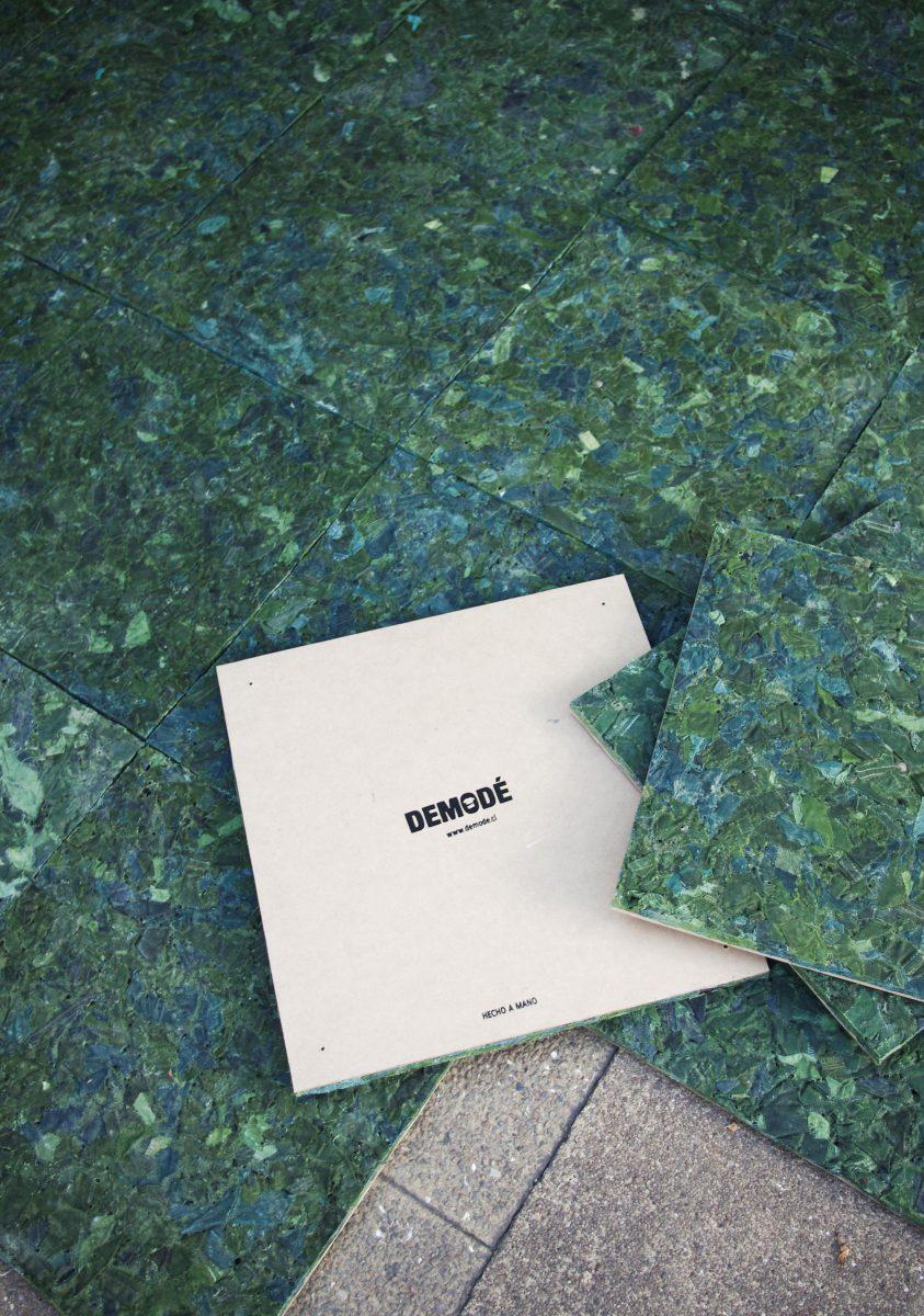 Demodé, diseño basado en desechos textiles