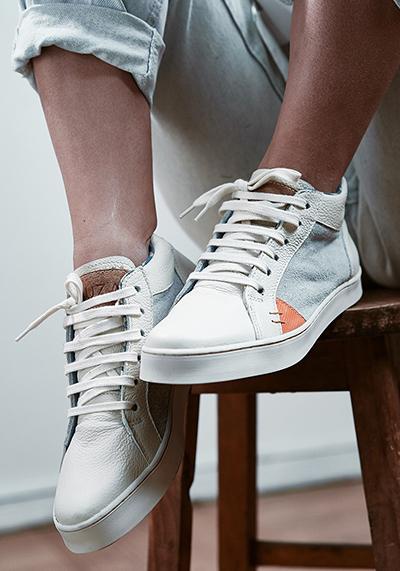 Kruza, las primeras zapatillas sustentables de Chile