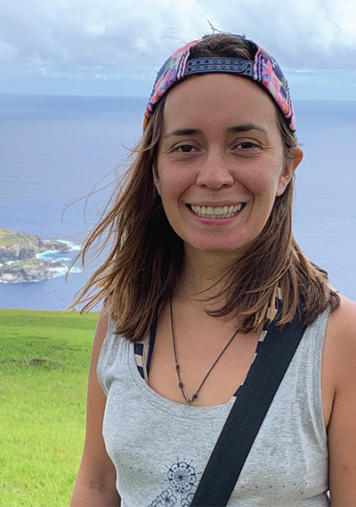 Camila Ahrendt, directora científica de Plastic Oceans Chile