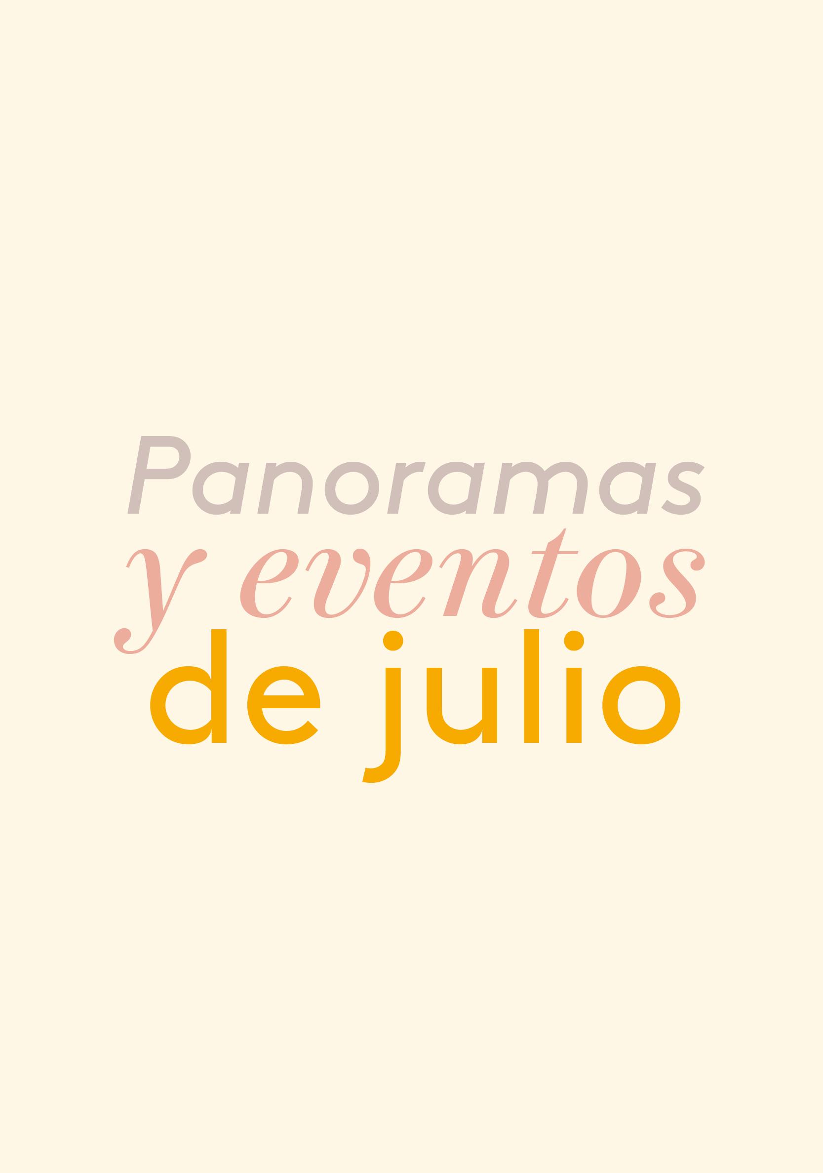 Julio 2019: eclipse, encuentros circulares y cine sobre derecho animal