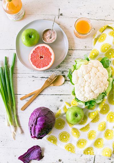 Frutas y verduras de estación