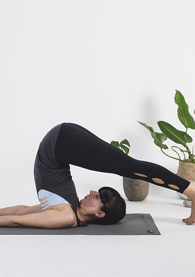 Yoga: Halasana