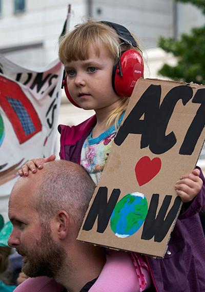 Cómo hablar con los niños sobre la crisis climática