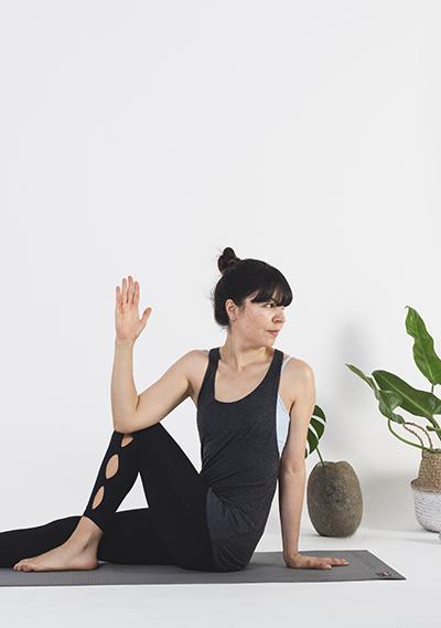 Yoga: Ardha matsyendrasana