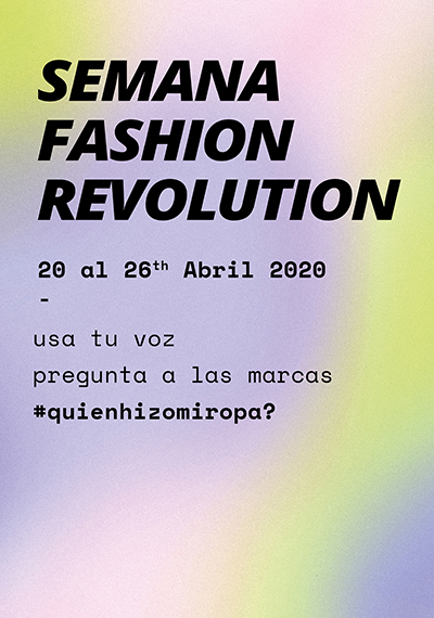 Semana Fashion Revolution 2020