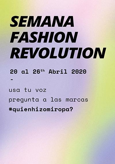 Semana Fashion Revolution 2020