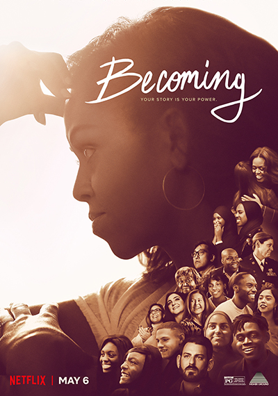 Becoming, la historia de Michelle Obama