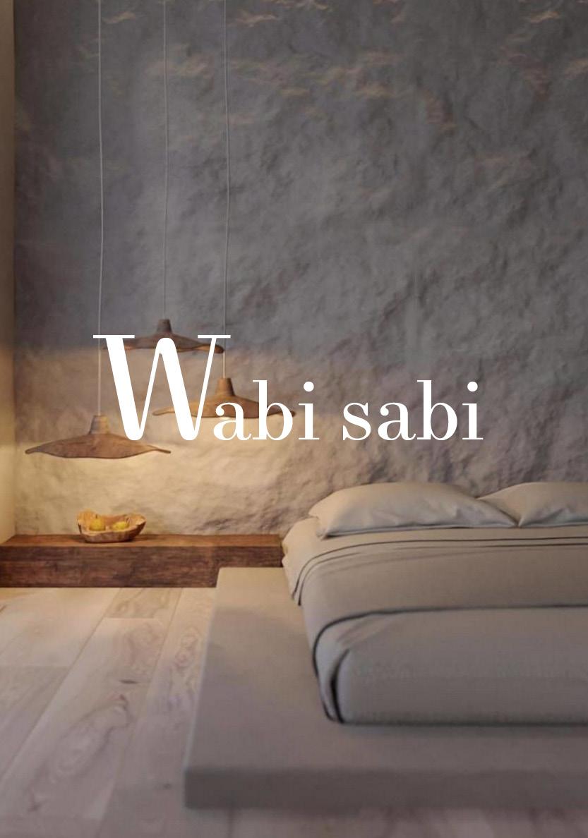 ¿Qué es wabi sabi?
