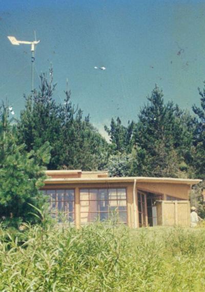 Mi infancia en la primera casa sustentable de México